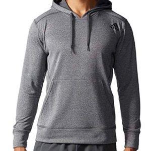 Adidas climawarm grey hoodie